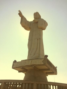 The famous Jesus Statue of SJDS
