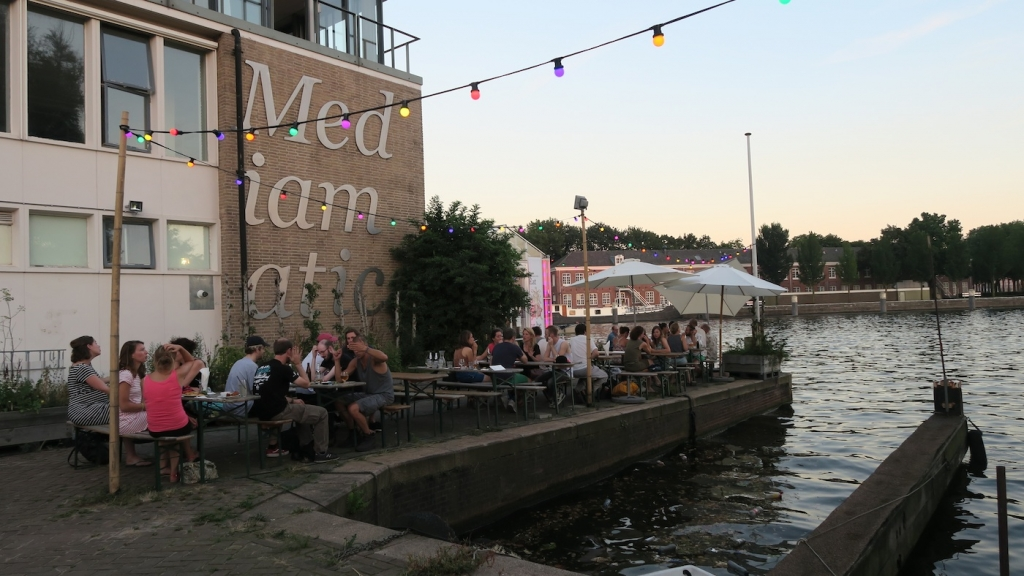 Mediamatic vegan pub Amsterdam