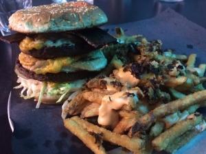 Doomie's Big Mac and Animal Fries!