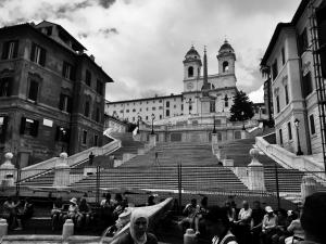 The Spanish Steps!