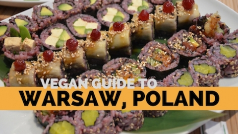 Vegan Guide to Warsaw, Poland