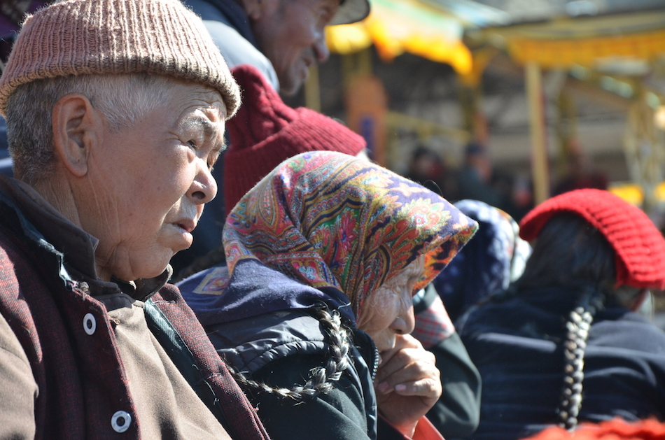 Locals in Leh, Ladakh
