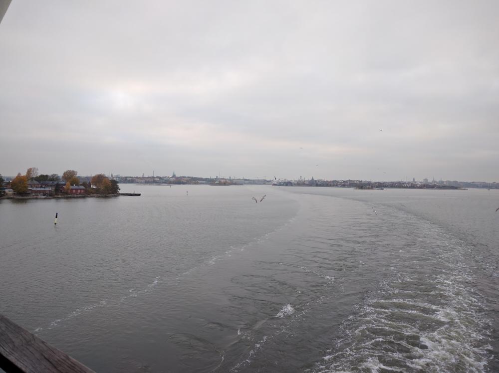 Leaving Helsinki