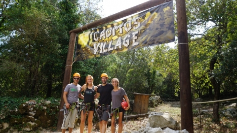 Cadmos Village Adventure Park, Croatia!