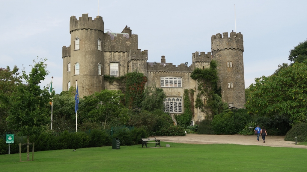 Malahide Castle Ireland 12th century