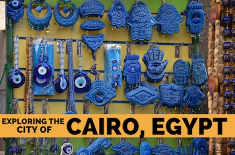 Exploring the city of Cairo