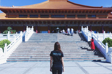 Meditation Retreat at Nan Tien Temple in Wollongong, Australia