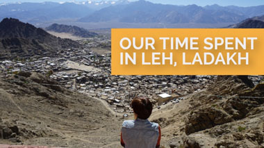 Our Time Spent in Leh, Ladakh - VeganTravel