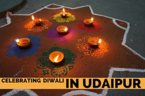 Celebrating Diwali in Udaipur