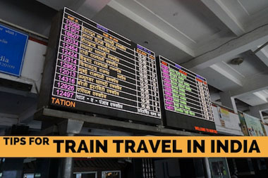 Tips on Train Travel in India