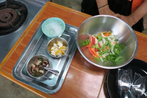 Authentic Thai Cooking Class- Veganized!