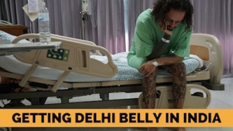Getting Delhi Belly in India