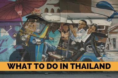What to do in Thailand - VeganTravel