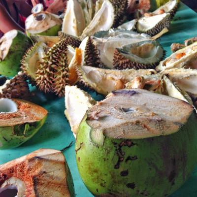 Madayaw Fruit Festival Durian
