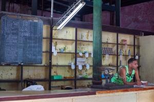 Ration shop in Havana