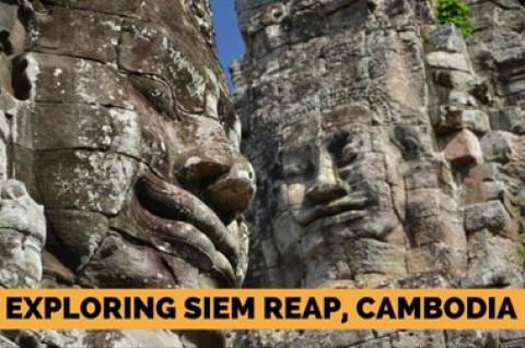 Exploring Siem Reap, Cambodia