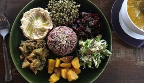 Koh Phangan Vegan Food
