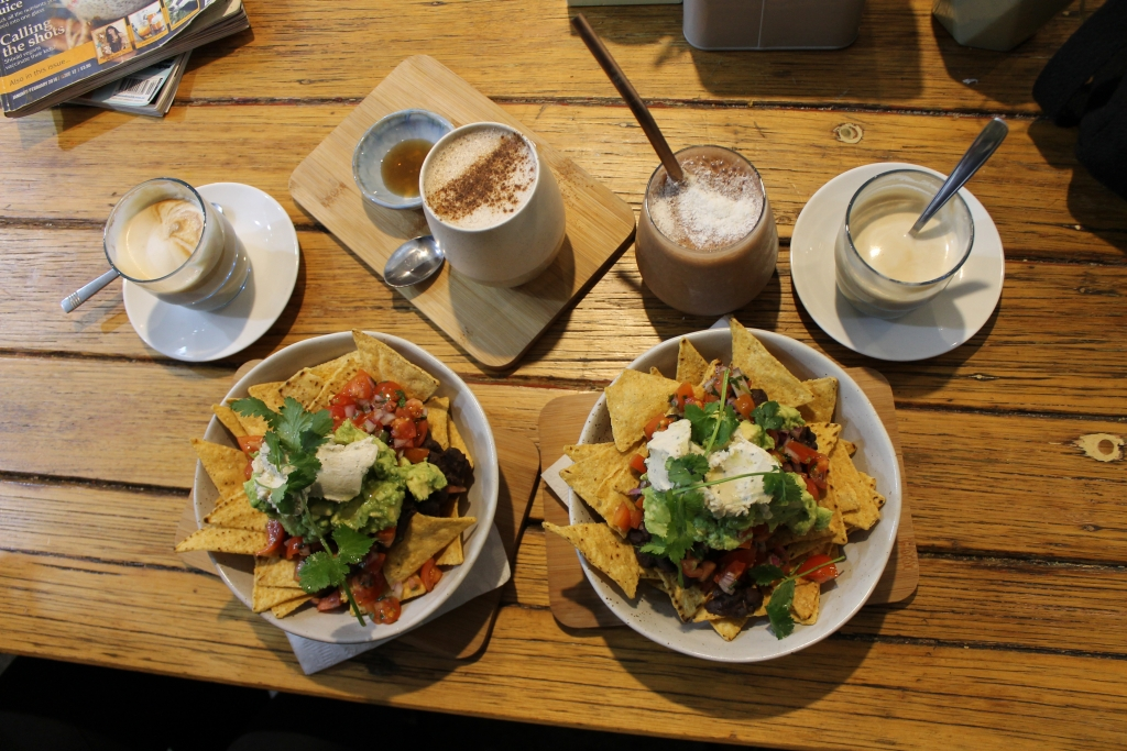 Nachos at Wombat Cafe