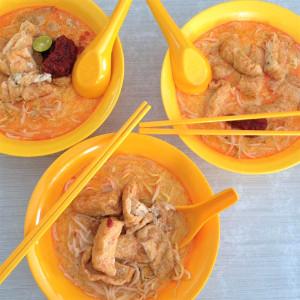 Vegan laksa Singapore