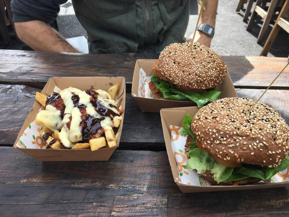 Moo-Free Burger Truck