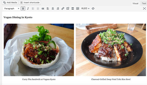 Create Gallery - Post View