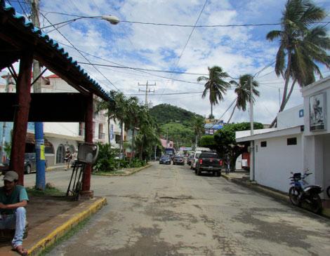 San Juan Street Nicaragua