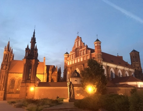 Latvia and Lithuania: Vegan Eating and Sightseeing Part 2