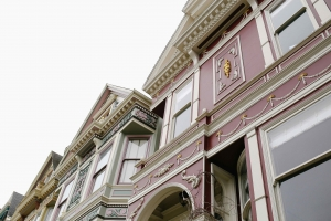 Painted Ladies - Victorian Houses