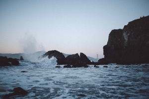 Mile Rock Beach Sunset Hike