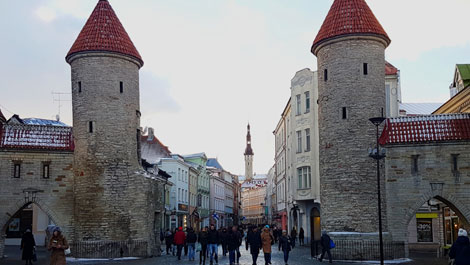 Tallinn, Estonia, towers