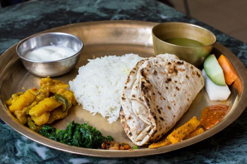 Dal-Bhat-Nepali-Vegetarian