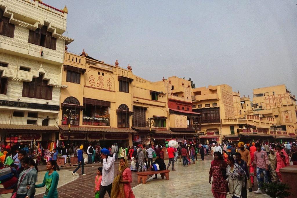 Amritsar main street