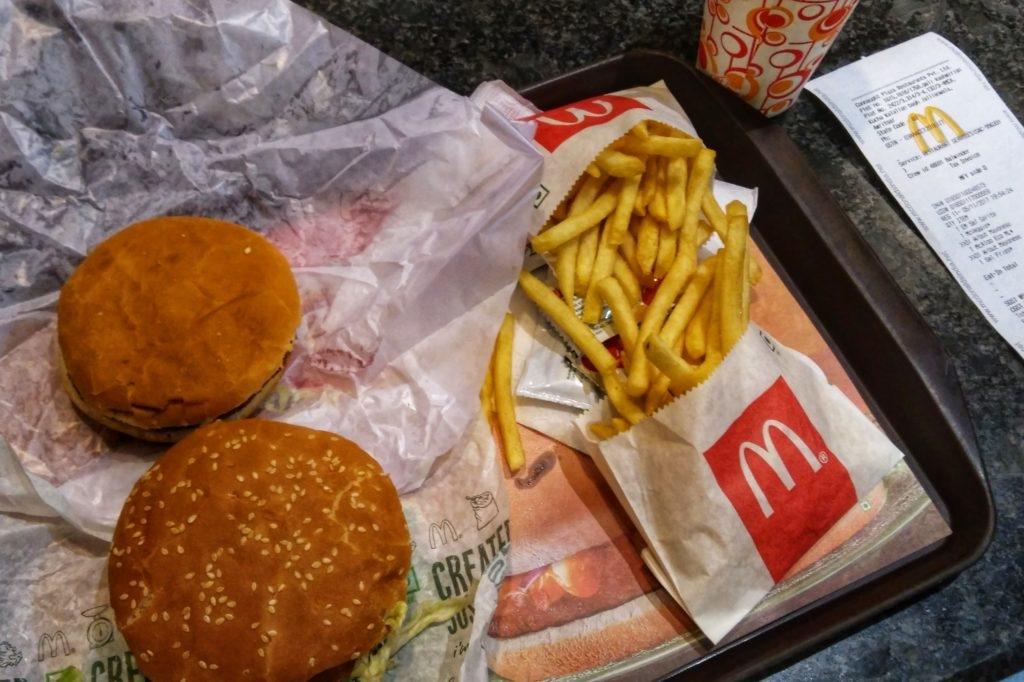 vegan McDonalds Amritsar