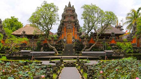 Ubud: Pura Taman Saraswati
