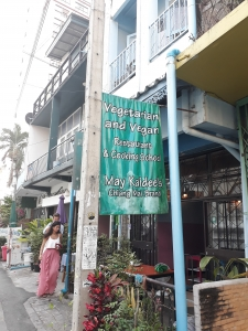 Front of May Kaidee's Thai cooking school, Chang Mai