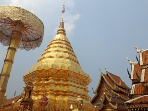Shot of Wat Phrathat Doi Suthep