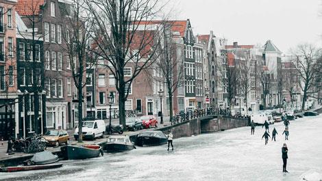 Vegan Travel Amsterdam Canals