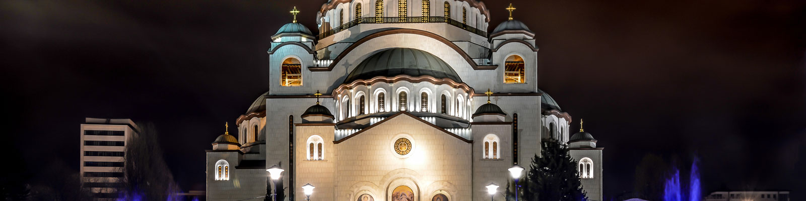 Serbia Vegan Travel Guide - Church of Saint Sava