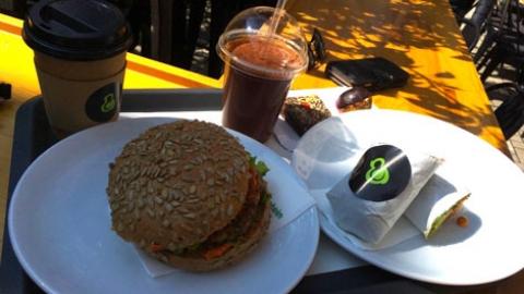 Vegan eating in Pristina, Kosovo