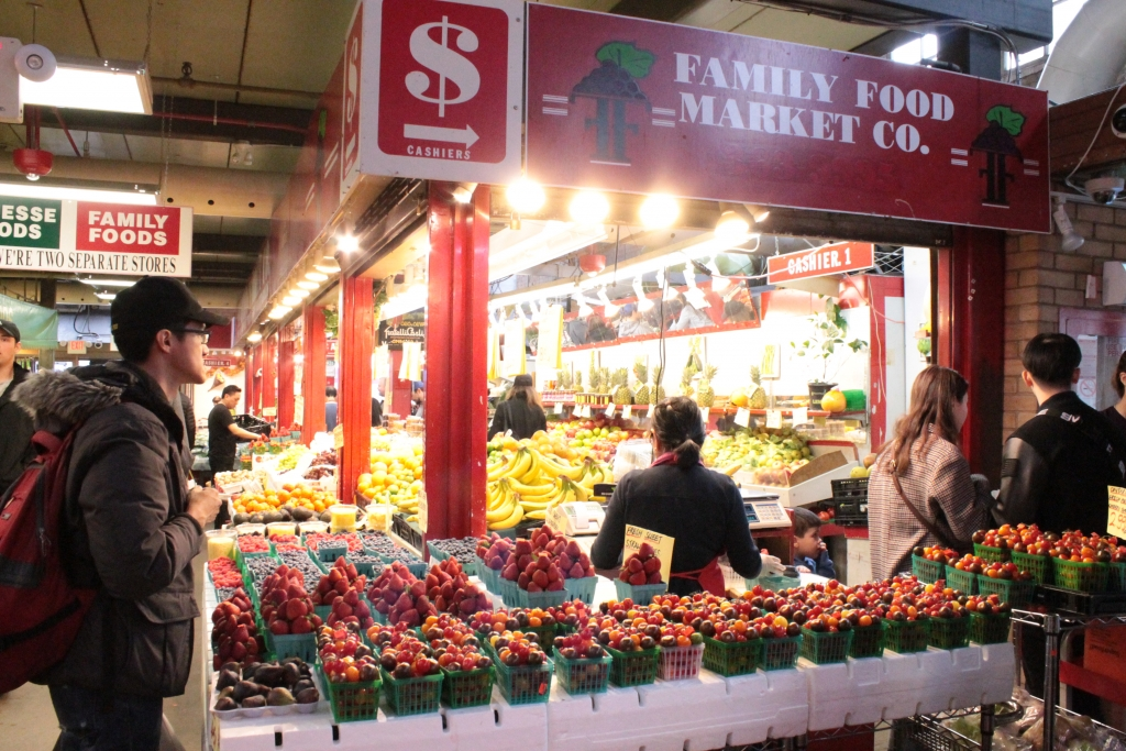 Produce Stalls at St. Lawrence Market