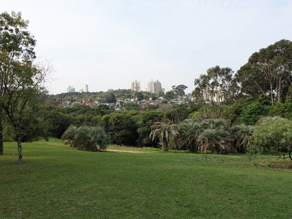 Porto Alegre viewed from the Botanical Garden