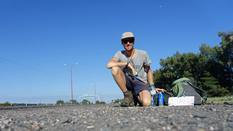 Hitchhiking in South America - Joel