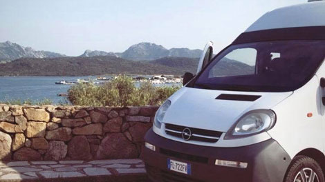 Sardinia Van Trip