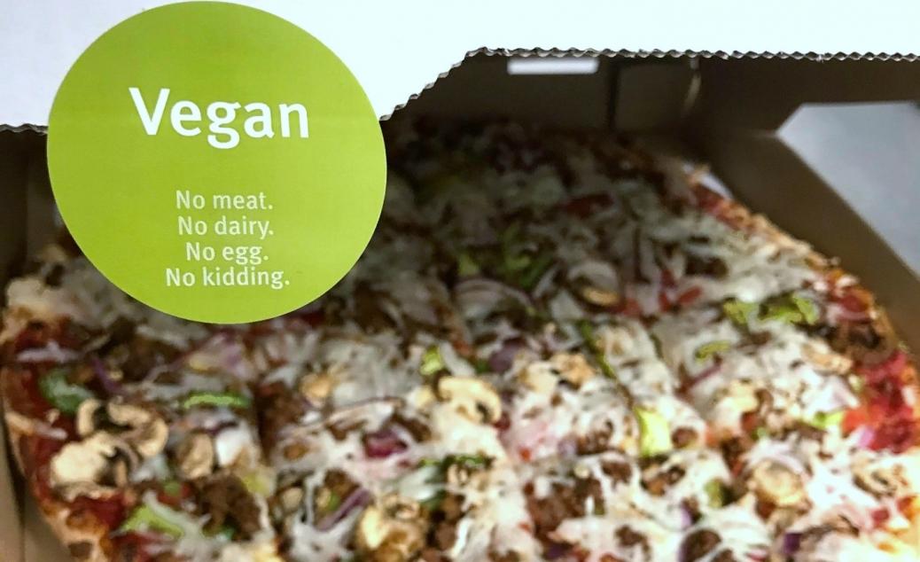 Fresh Brothers Vegan Pizza