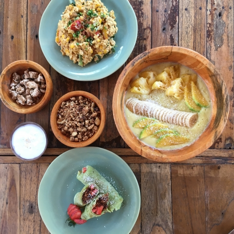 Top places for vegan food in the Gili Islands, Indonesia