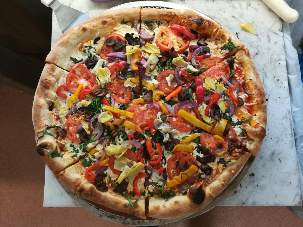 Whole Foods Vegan Pizza