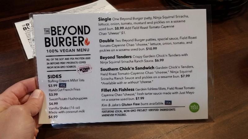 Beyond Burger Whole Foods Price
